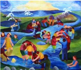 "Photo credit – ""Building Bridges"" Interfaith Mural – Case Western Reserve University"